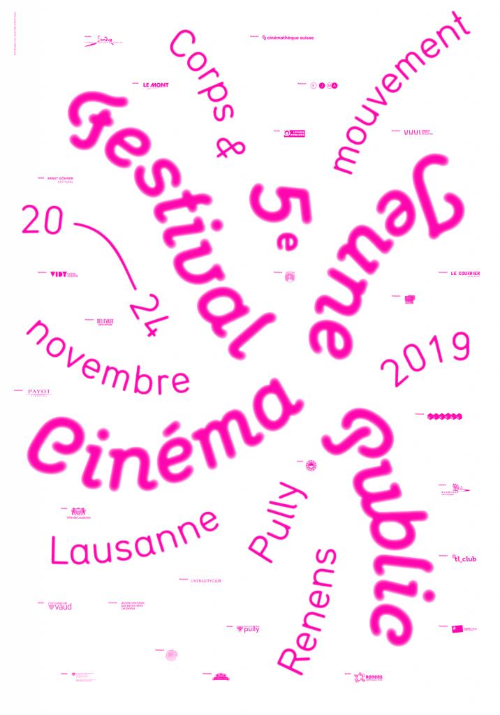 Affiche de l'édition 2019 du Festival Cinéma Jeune Public