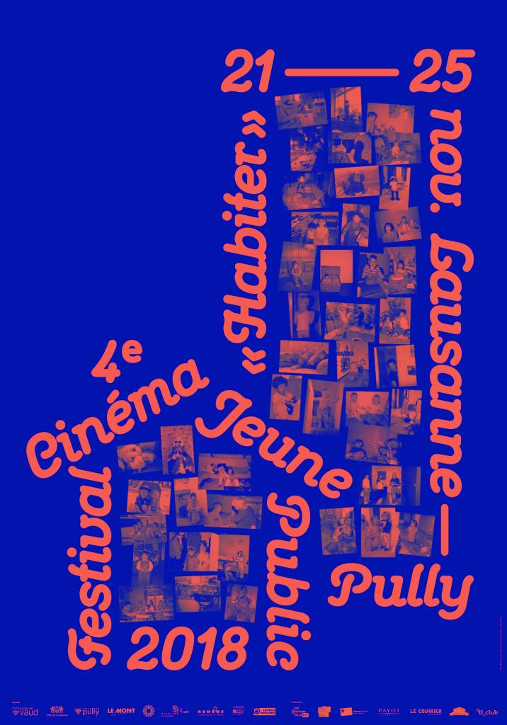 Affiche de l'édition 2018 du Festival Cinéma Jeune Public