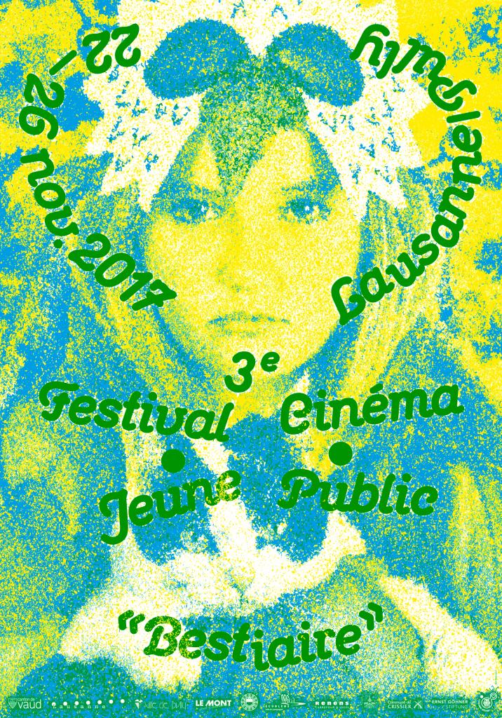 Affiche de l'édition 2017 du Festival Cinéma Jeune Public