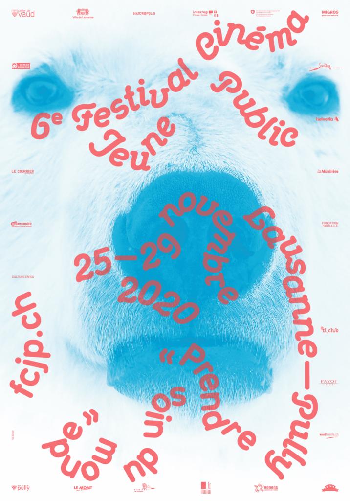 Affiche de l'édition 2020 du Festival Cinéma Jeune Public